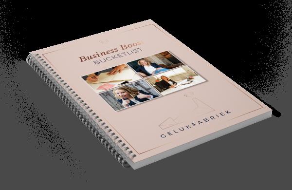 E-book Bucketlist Gelukfabriek